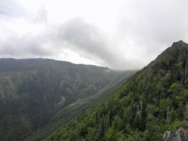 View of Castle Ravine from Mt. Jefferson Castle Trail