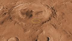 Curiosity Landing Site in Gale Crater (NASA, M...
