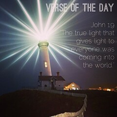 "Verse of the day: #John 1:9 NIV ""The true #light that gives light to everyone was coming into the #world."" http://bible.com/111/jhn.1.9.niv #verseoftheday #bible #verse #scripture #devotion #meditation #God #Jesus (Cas World) Tags: square squareformat mayfair iphoneography instagramapp uploaded:by=instagram foursquare:venue=4da653d47ccc816eb81abb7b"
