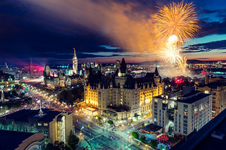 Ottawa Fireworks, Canada Day 2012