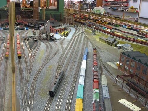 Medina Railroad Museum HO Scale Model Train Layout 24