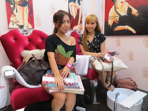 Singapore Lifestyle Blog, Beauty blog, nail blog, nail art, nailart, creative nails, nail art in singapore, millys, millys nails, beauty, Singapore blog, manicures, Gelish nails, Aztec nails, Tribal nails, easter eggs nails