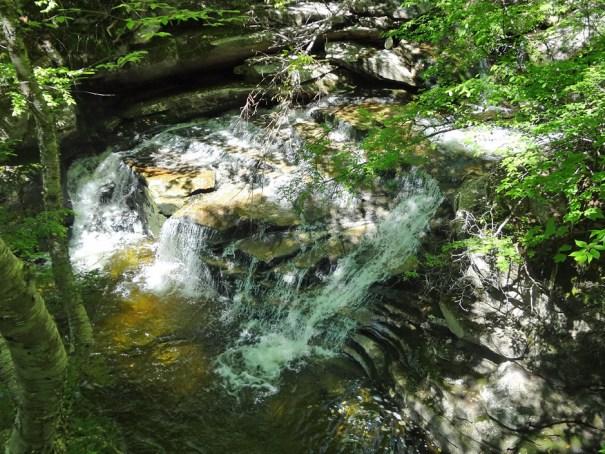Goose Eye Brook Waterfall