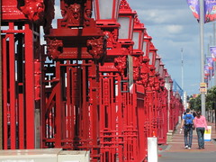 Fence at Auckland docks