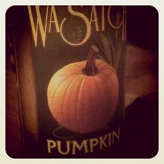 Wasatch Pumpkin #Beer. Pumpkin pie in a bottle...