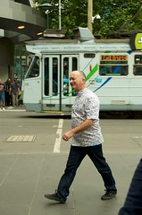 Tony Robinson in Melbourne
