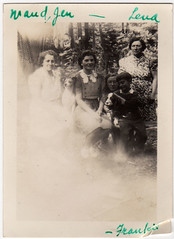 Vintage Photo - Group Photo