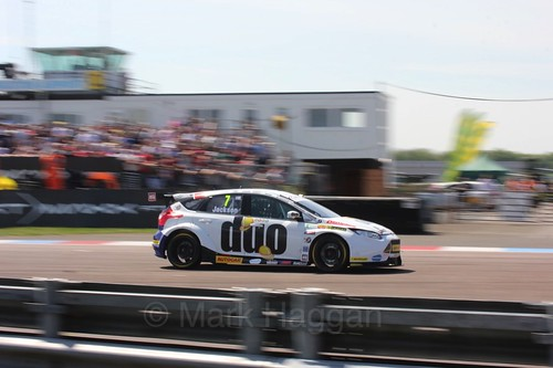 Mat Jackson during the BTCC Weekend at Thruxton, May 2016