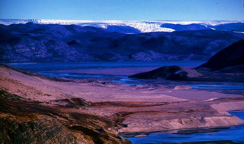 Edge of the Greenland polar ice sheet  (1965)