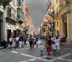 Republic Street, Valletta, Malta 1