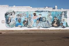 Highway 61 Blues Mural