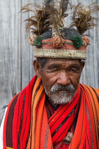 A colorful character. Banaue