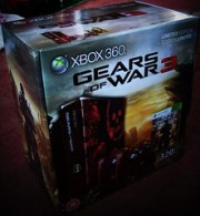 The Gears of War 3 Xbox 360 is IN the building...!