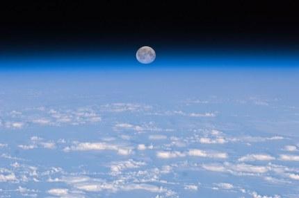 Full Moon Over Earth (NASA, International Space Station, 11/11/10)