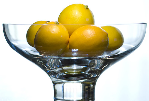 Meyer Lemon Study #2: A Bowl of Lemons