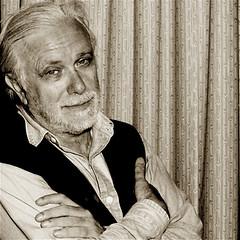 Luciano De Crescenzo - foto di Augusto De Luca