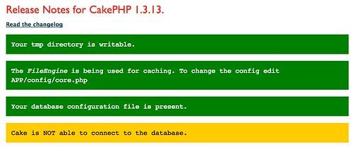 CakePHP: the rapid development php framework: Home