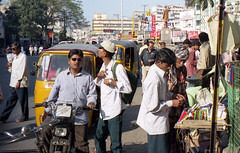 Hyderabad street scene
