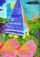 Art by an Autistic Child: III Wander by T.T.Th...