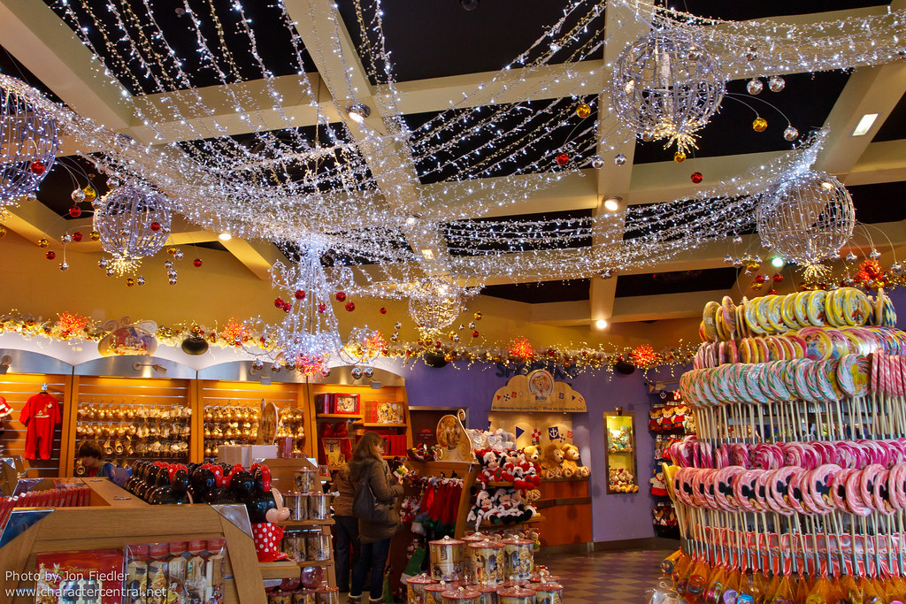 The Christmas Store in Disneyland, Anaheim, California