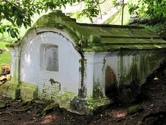 Tomb below St Paul's Church