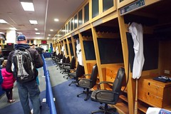 Mariners clubhouse