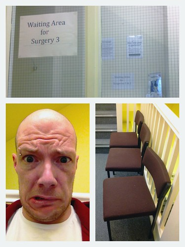 Today is all about...surviving the dentist
