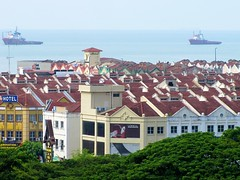 Melaka rooftops