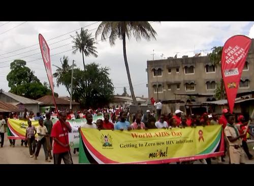 Mombasa WAD procession