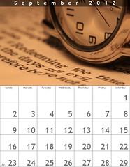 September - Time