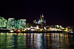 HMS Belfast Night HDR