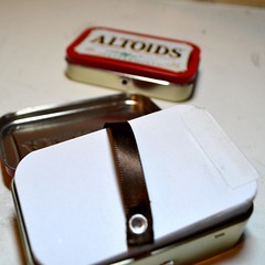 Altoids Notepad Tin