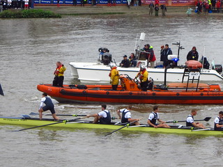 RNLI at Boat Race 2012