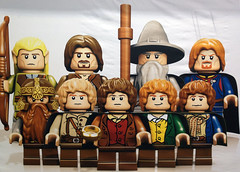 Lord of the Rings minifig poster (Photo credit: marvelousRoland)