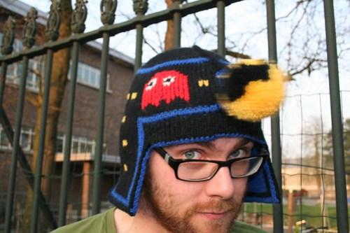 Pacman hat