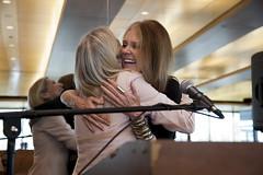 Gloria Steinem presents Letty Cottin Pogrebin ...