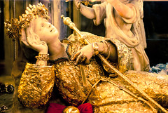 golden saint rosalia.