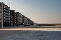 Coxyde Février 2012 - Le charme discret de la mer déserte en hiver