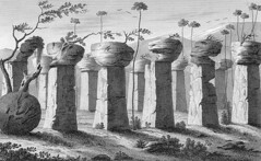 Ancient Ruins on Tinian, 1819