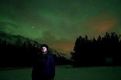 Noruega | Tromso | Laura viendo auroras boreales