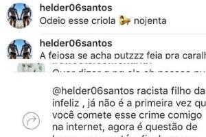 Autor de ofensas racistas a Ludmilla confessa e será indiciado por injúria