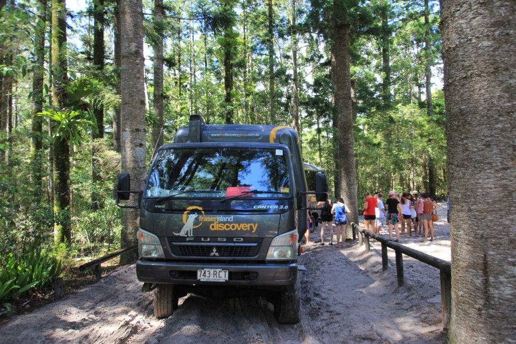 4X4 - Fraser Island, Australia