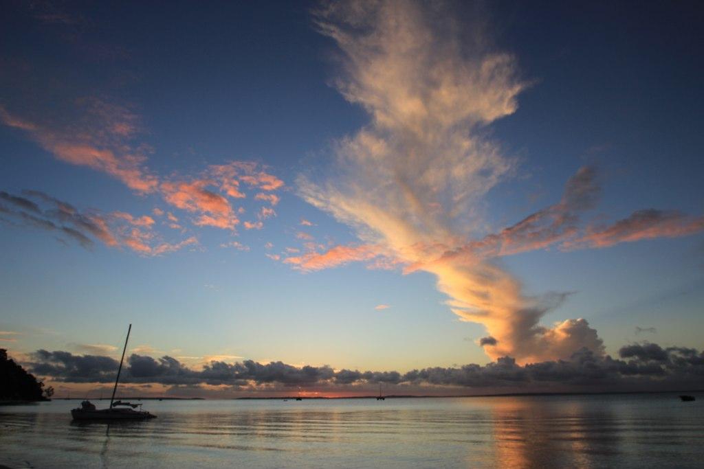 Sunset-  Fraser Island, Australia
