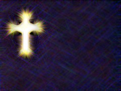 Christian wallpaper background stylized cross