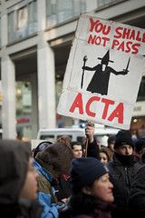Anti ACTA Protest Berlin