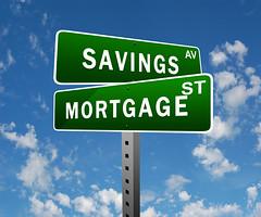 sasvings and mortgage