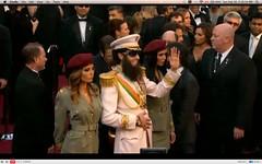 Oscar 2012 - Sacha Baron Cohen - The Dictator ...