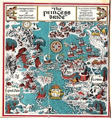 Map of The Princess Bride by William Goldman