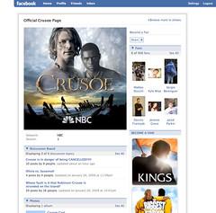 Crusoe Facebook page