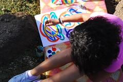 Art therapy in Heisa Island Aswan